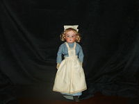 1918 Bisque German Doll (50% off)-antique, bisque, uniform of WWI, 12 high. not marked,childrens toy