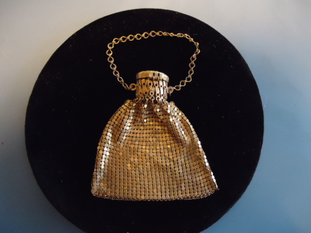 Wonderful Gold Mesh Purse-