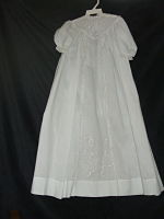 Heirloom -sewn  Christening Dress 7-