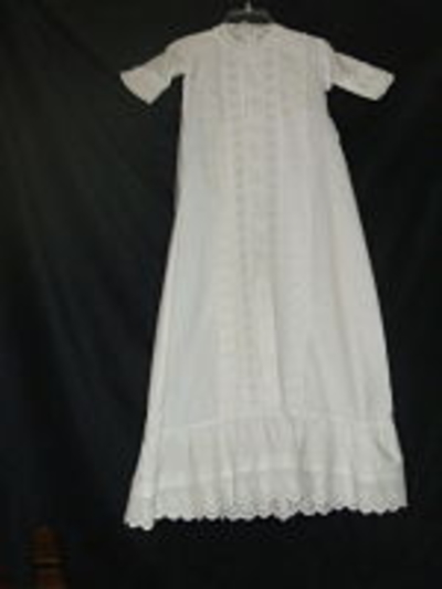 Heirloom-sewn  Christening Gown 8-