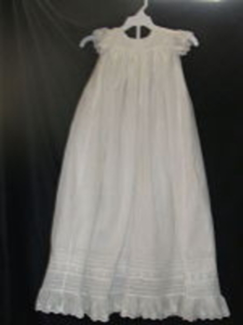 Heirloom-sewn Christening Dress 5