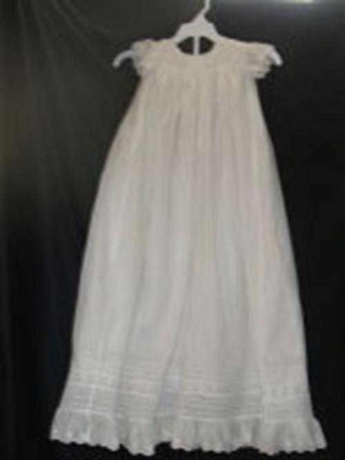 Heirloom-sewn Christening Dress 5-