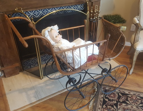1896 Victorian Child's Go Cart-