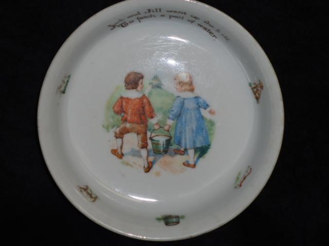 Jack & Jill Child's Dish-