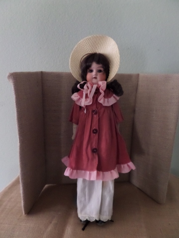 Antique German Doll-Mabel-antique, bisque, 1800s, Amand Marseille. Germany