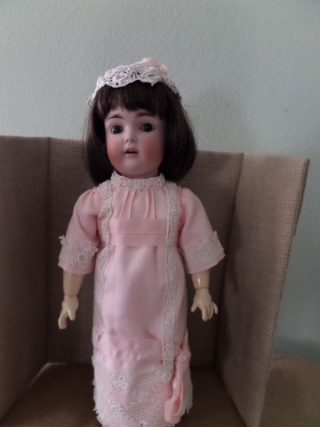 Doll from 97yr. old marked S&H-