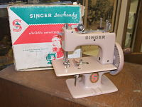 Child's Singer Sewing Machine