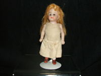 Tiny German Bisque Girl-