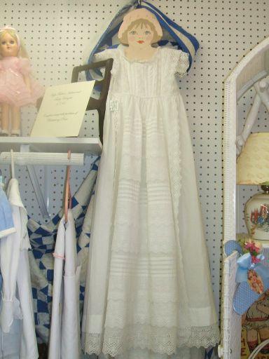 Victorian Christening Gown & Slip-