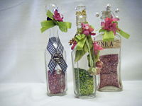 Trio of Vanity Bottles-